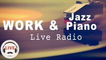 Slow Jazz Music - 24/7 Live Stream - Music For Work & Study